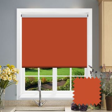 Blackout Roller Blind - Bermuda Rust